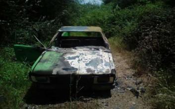 Διαρρήκτες έκαψαν αυτοκίνητο για να σβήσουν τα ίχνη τους
