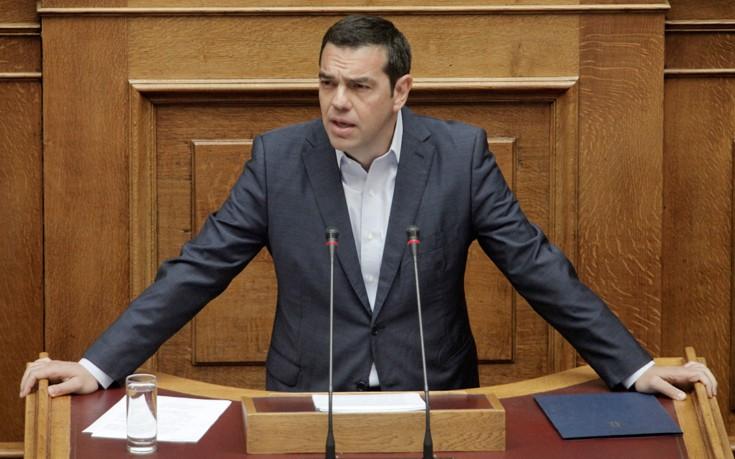Τσίπρας: Η ταλαιπωρημένη Ελλάδα βγαίνει σταθερά από τα μνημόνια