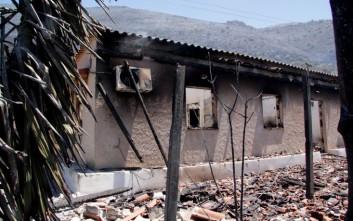 Δεν απειλούνται σπίτια σε Σκουτάρι και Κοκκάλα στη Μάνη