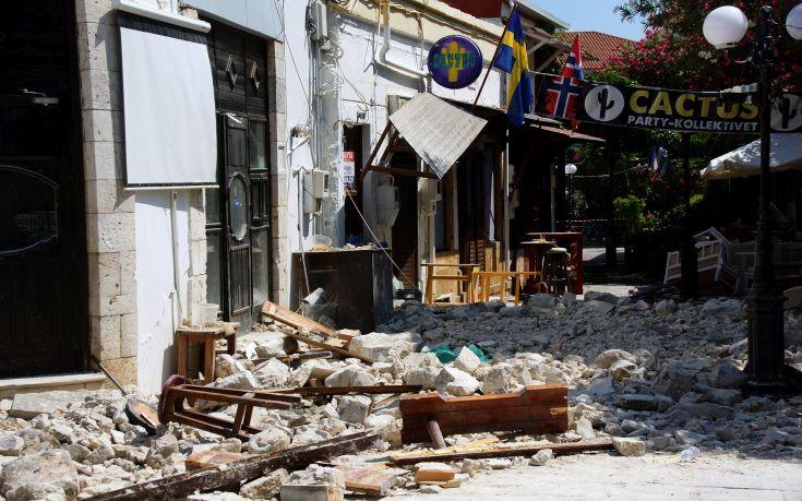 Αναθεωρήθηκε στα 6,6 Ρίχτερ ο σεισμός στην Κω