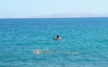 Περιπέτεια για σέρφερ στο Ηράκλειο Κρήτης