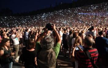 Μαγευτική βραδιά στο Καλλιμάρμαρο με 60.000 θεατές