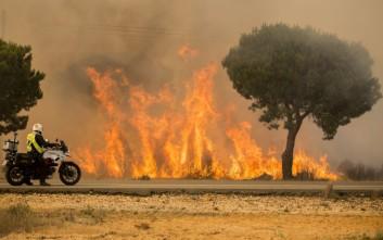 Ισπανία: Φωτιές μαίνονται στη Γαλικία, χωριά εκκενώθηκαν
