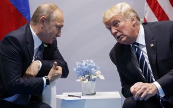 Πούτιν και Τραμπ θα συζητήσουν την κατάσταση στη Βόρεια Κορέα