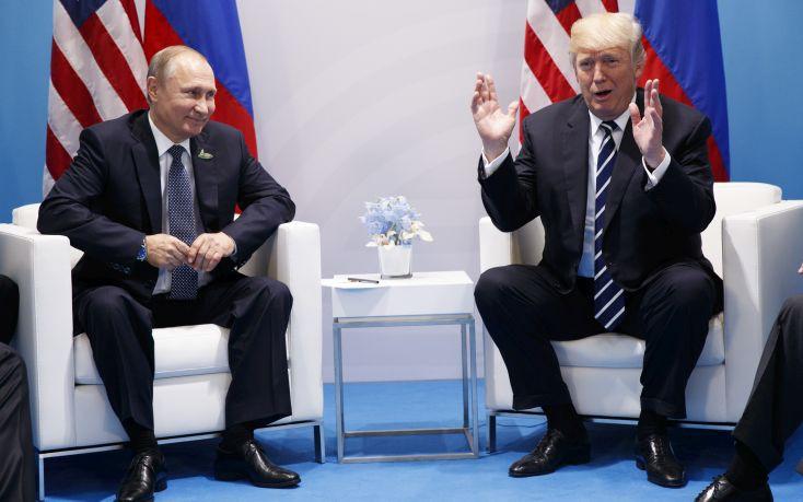 Πούτιν και Τραμπ ίσως συζητήσουν το θέμα των κυβερνοεπιθέσεων