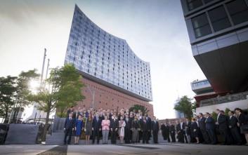 Ενωμένοι κατά της τρομοκρατίας οι ηγέτες στη Σύνοδο στο Αμβούργο