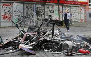 Στις επάλξεις ξανά η Αστυνομία στο Αμβούργο