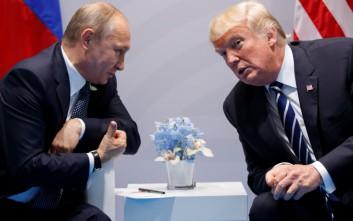 Η πρώτη πρόσωπο με πρόσωπο συνάντηση Πούτιν - Τραμπ