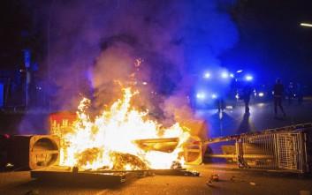 Συγκρούσεις στο Αμβούργο και τα ξημερώματα μεταξύ διαδηλωτών και αστυνομίας