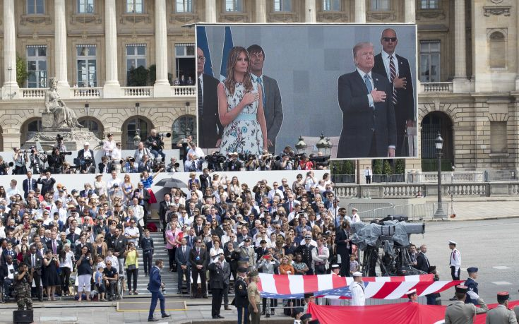 Μακρόν: Τίποτα δεν θα χωρίσει τη Γαλλία από τις ΗΠΑ