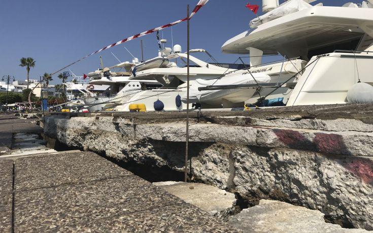 Τσιμεντένια ράμπα θα κατασκευαστεί στο λιμάνι της Κω