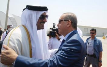 Καμία πρόοδος στη διπλωματική κρίση με το Κατάρ μετά την επίσκεψη Ερντογάν