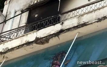 Φωτιά σε διαμέρισμα στην Κυψέλη
