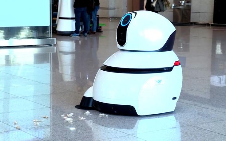 Το μεγαλύτερο αεροδρόμιο της Νότιας Κορέας θα χρησιμοποιεί τα Airport Robots της LG