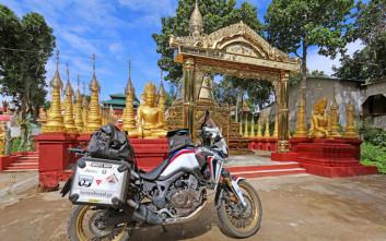 Στην άγνωστη πρώην Βιρμανία και νυν Μιανμάρ ο Μητσάκης