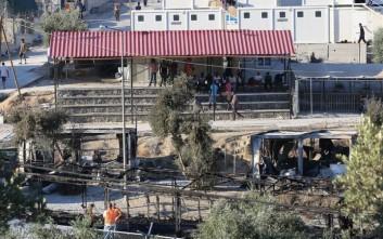 Στο αλκοόλ αποδίδει η αστυνομία τις συγκρούσεις στον καταυλισμό της Μόριας