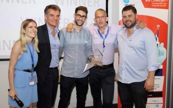 Ανακοινώθηκαν οι νικητές στην εκδήλωση του Reload Greece «Dragon's Den Pitch» στο The Shard