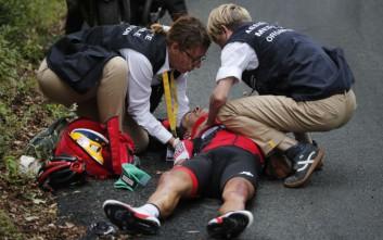 Σοβαρό ατύχημα στον Γύρο της Γαλλίας