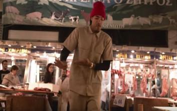 Αμερικανός ράπερ γύρισε βίντεο-κλιπ στη… Βαρβάκειο αγορά