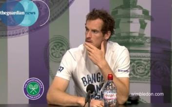 Ο Andy Murray είναι και επίσημα ο αγαπημένος τενίστας των γυναικών