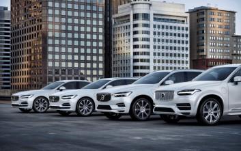 Από το 2019 μια ηλεκτρική έκδοση σε κάθε μοντέλο της Volvo