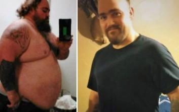 Έχασε 90 κιλά για να καταταγεί στον στρατό