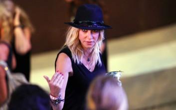 Η Άννα Βίσση στη συναυλία των Foo Fighters στην Αθήνα