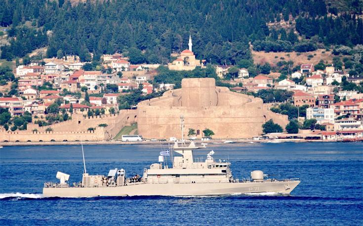 Ελληνική πυραυλάκατος πέρασε τα Στενά των Δαρδανελίων