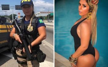 Η Βραζιλιάνα αστυνομικός που έχει τρελάνει τα social media