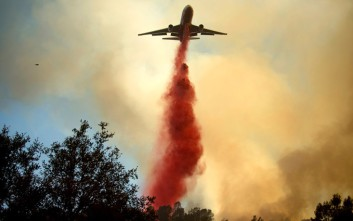 Εκατοντάδες ώρες πτήσεων για τα πυροσβεστικά αεροσκάφη της Πολεμικής Αεροπορίας