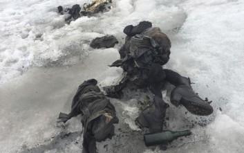 Μουμιοποιημένα πτώματα ζευγαριού που χάθηκε πριν 75 χρόνια βρέθηκαν σε παγετώνα