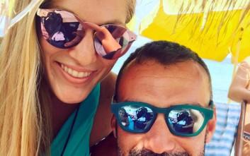 Χούτος και Εσκενάζη μαζί για βουτιές στη θάλασσα