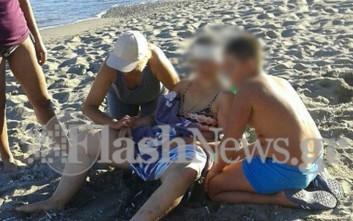 Γυναίκα χτυπήθηκε με σίδερο στο κεφάλι από ανεμοστρόβιλο