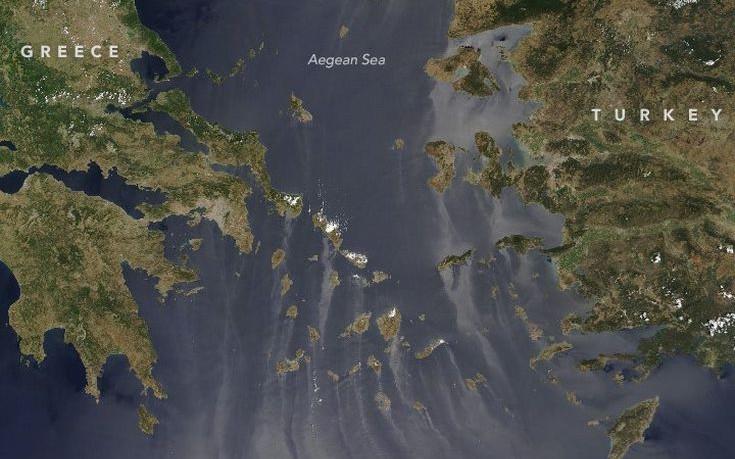Το εντυπωσιακό φαινόμενο που κατέγραψε η NASA στο Αιγαίο