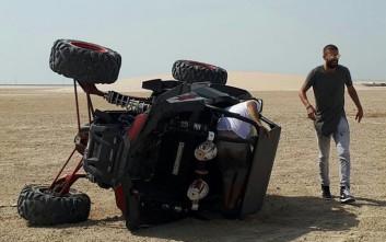 Ατύχημα στιλ Ντακάρ για τον Πικέ στο Κατάρ