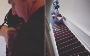 Ιδιοκτήτης σπιτιού έσπρωξε ενοικιάστρια από τις σκάλες, τραυματίζοντάς τη σοβαρά