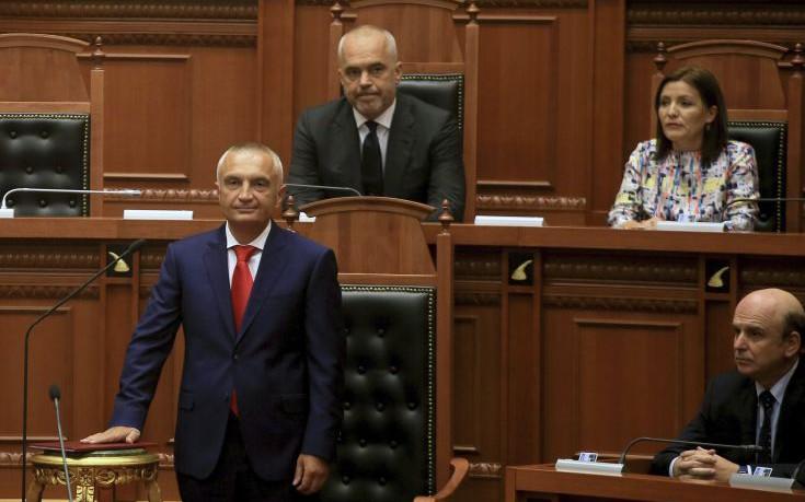 Ορκίστηκε πρόεδρος της Αλβανίας ο Ιλίρ Μέτα