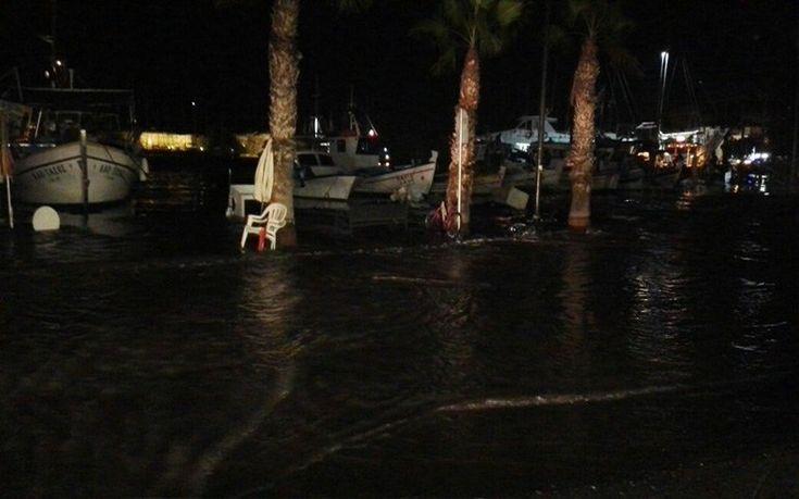 Μίνι τσουνάμι στην Κω από τον σεισμό