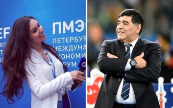 Ρωσίδα κατηγορεί τον Μαραντόνα πως το… «χέρι του Θεού» την παρενόχλησε