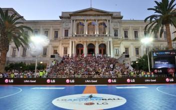 Πάνω από τέσσερις χιλιάδες θεατές και αθλητές στο 2ο LG AegeanBall Festival 2017