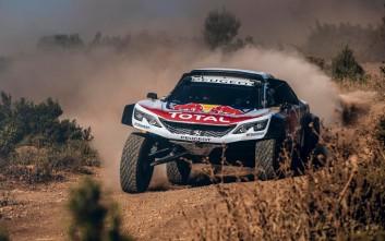 Με το 3008DKR Maxi η Peugeot για το χατ τρικ στο Dakar 2018