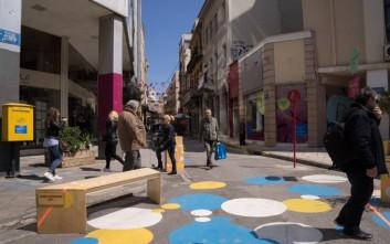Πεζοδρομούνται ακόμα δύο δρόμοι στο εμπορικό τρίγωνο της Αθήνας