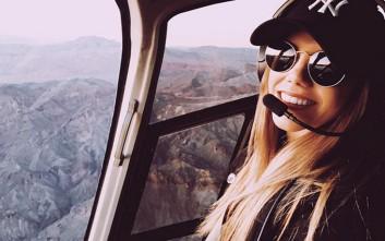 Η σέξι πιλότος ελικοπτέρου που έχει γίνει σταρ του Instagram
