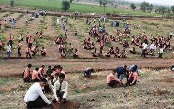 Εθελοντές στην Ινδία φύτεψαν σε 12 ώρες… 66 εκατομμύρια δέντρα!