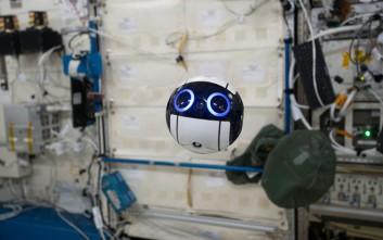 Το χαριτωμένο ιαπωνικό drone του Διεθνούς Διαστημικού Σταθμού