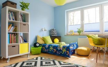 Τρεις ασυνήθιστοι αλλά όμορφοι χρωματικοί συνδυασμοί για το παιδικό δωμάτιο