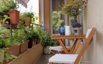 «Κρύψε» το μπαλκόνι σου με τέσσερις τρόπους