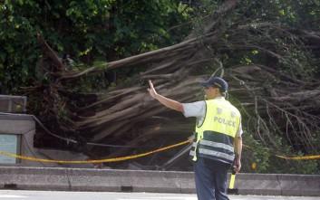 Σαρώνει την Ταϊβάν ο τυφώνας Νεσάτ
