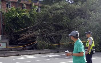 Τουλάχιστον 80 τραυματίες στην Ταϊβάν από τον τυφώνα Νεσάτ