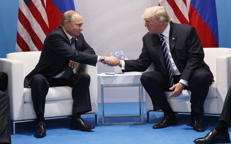 Σε θερμό κλίμα η πρώτη συνάντηση Τραμπ και Πούτιν στο Αμβούργο